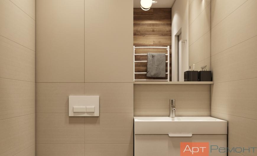 Дизайн двухкомнатной квартиры с перепланировкой8