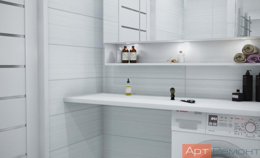 Дизайн проект двухкомнатной квартиры м. Коломенская