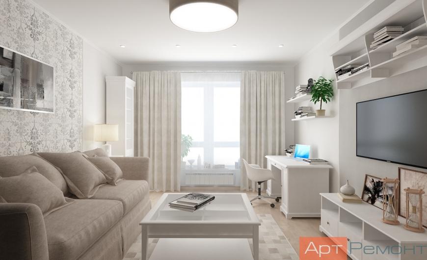 Дизайн проект квартиры Коммунарка