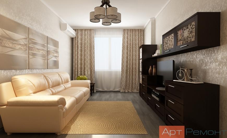 Дизайн проект квартиры Реутов