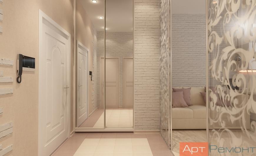 Дизайн проект квартиры ЖК Форт Сколково (Заречье)