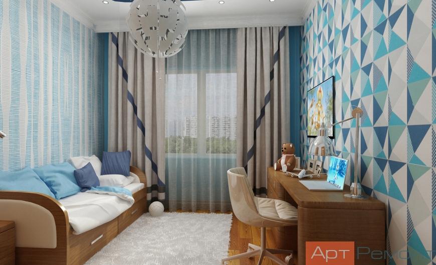 Дизайн проект квартиры ЖК Ново-Молоково