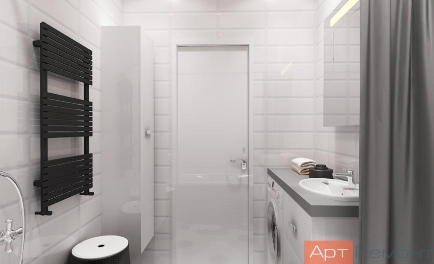 Дизайн проект квартиры ЖК Зеленые Аллеи (Видное)