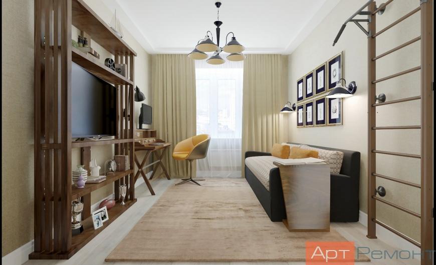 Дизайн проект квартиры г. Одинцово