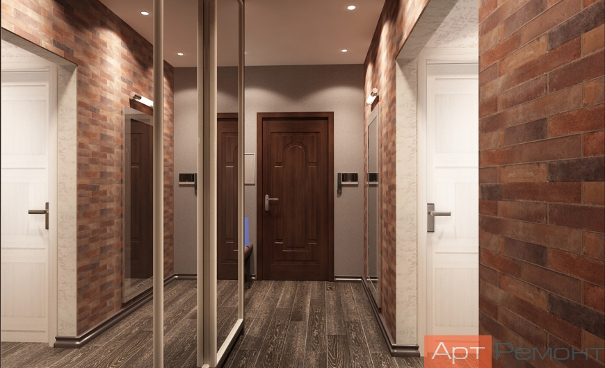 Дизайн проект квартиры г. Щербинка