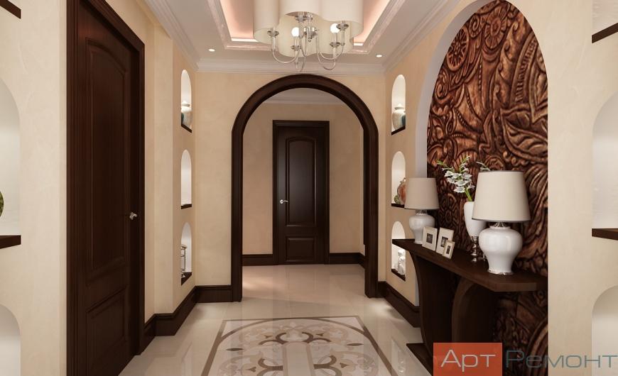 Дизайн проект квартиры м.Юго-Западная