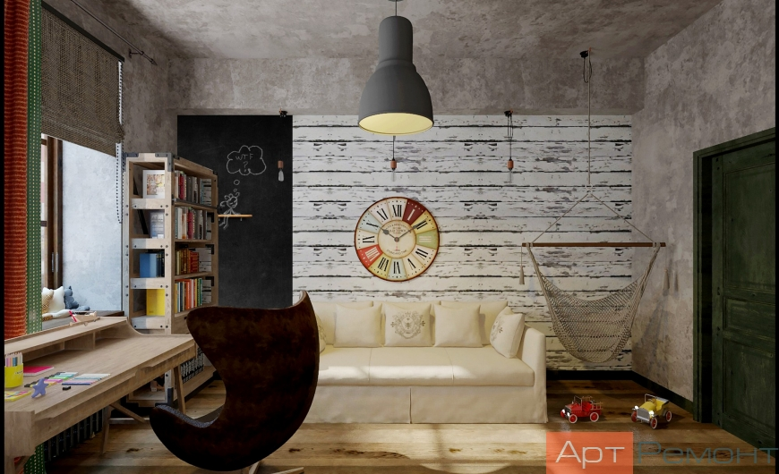 Дизайн проект квартиры м. Каширская