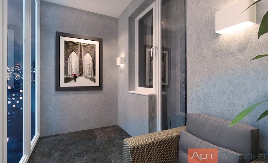 Дизайн проект квартиры м. Улица академика Янгеля