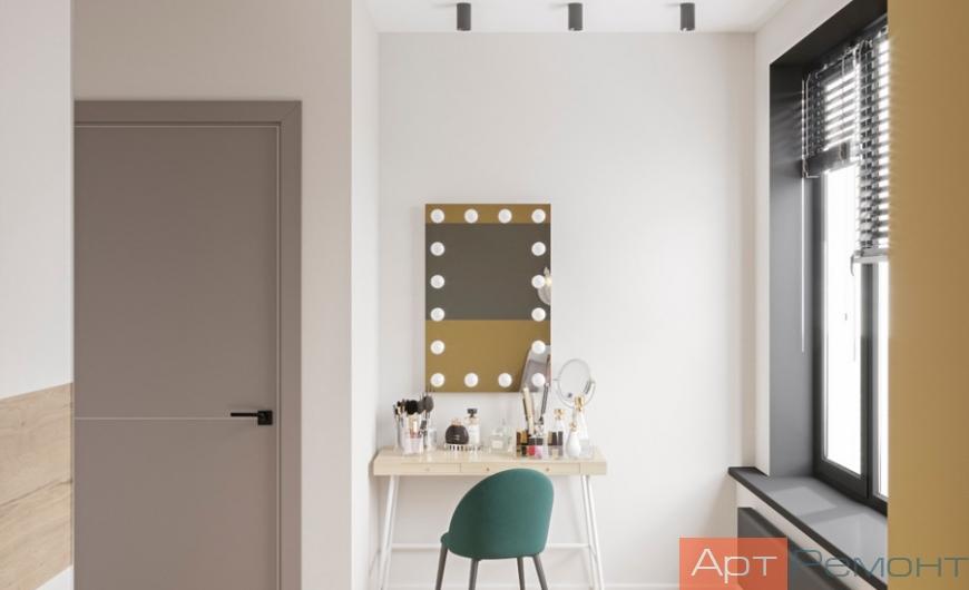 Дизайн трехкомнатной квартиры в современном стиле