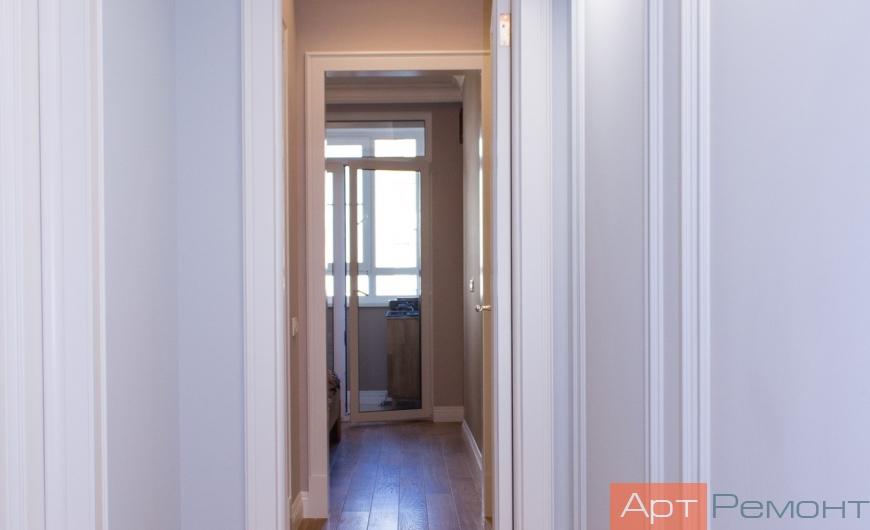 Ремонт трехкомнатной квартиры м. Нахимовский Проспект