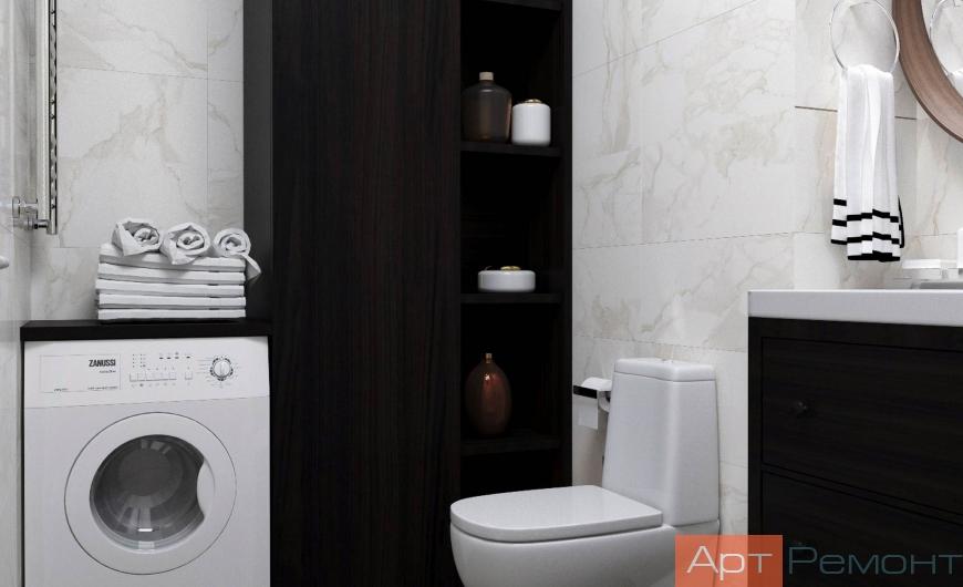 Ремонт ванной комнаты ЖК Татьянин Парк