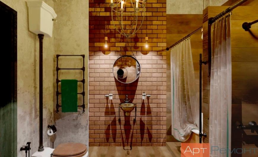 Ремонт ванной комнаты м.Каширская