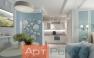 Дизайнерский ремонт однокомнатной квартиры фото 4