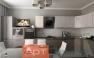Дизайнерский ремонт однокомнатной квартиры фото 6