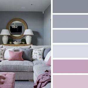 Романтичный розовый и балансирующие оттенки серого