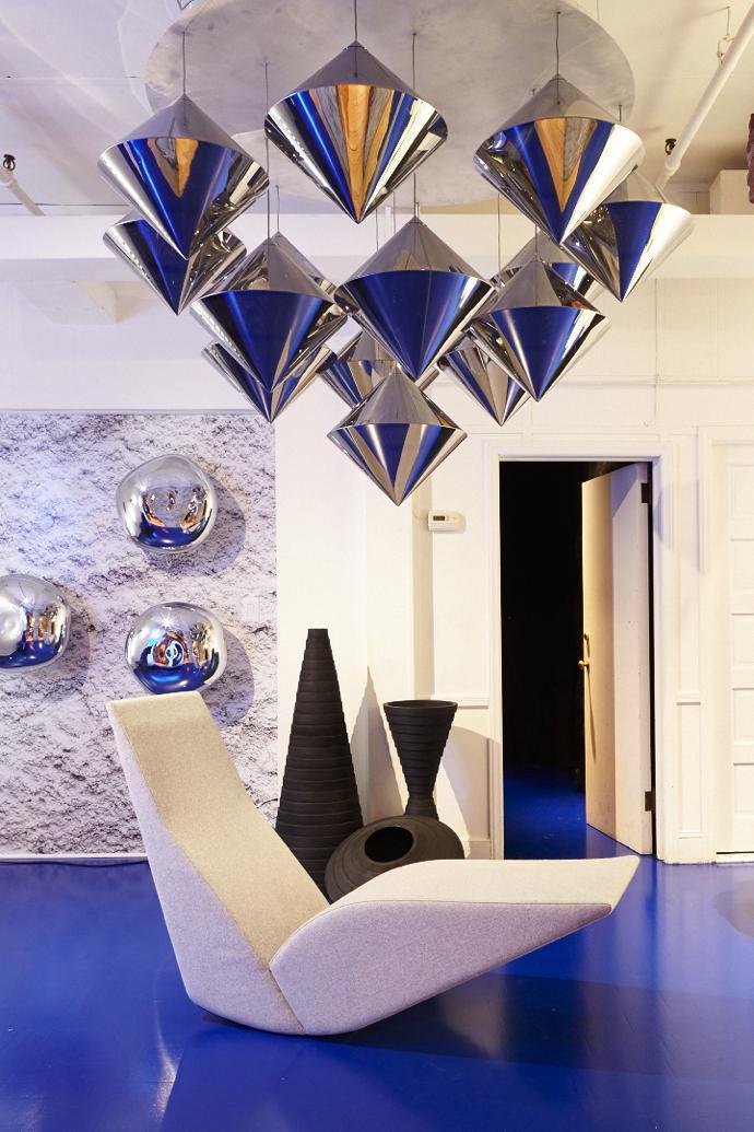 Футуризм мебель и освещение